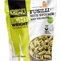 Сублимированное блюдо макароны со шпинатом и грецким орехом Adventure Menu Fusilli with spinach and walnuts 105 г (AM 208)