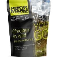Туристическое блюдо курица в соусе с диким рисом Adventure Menu Chicken in wild sauce with rice (AM 685)