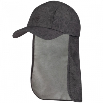 Бейсболка BUFF Bimini Cap zinc dark grey (BU 119526.951.10.00)