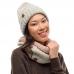 Бафф BUFF Knitted & Fleece Neckwarmer Olya cloud (BU 120845.003.10.00)