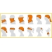Бафф детский BUFF Mickey Child Original skate king orange (BU 115440.204.10.00)