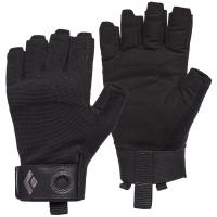 Перчатки для альпинизма Black Diamond Crag Half-Finger Black (BD 801864.0002)