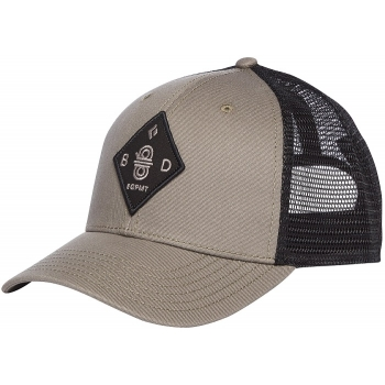 Бейсболка Black Diamond BD Trucker Hat Dark Flatiron/Black (BD FX7L.9117)