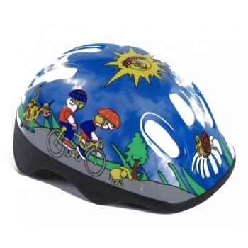 Велошлем детский HTP Design Nicola Blue Adjust (HTP 90210015)