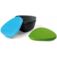 Набор герметичных контейнеров Light My Fire SnapBox Original Green-Cyan Blue (LMF 40358713)
