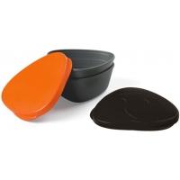Набор герметичных контейнеров Light My Fire SnapBox Original Orange-Black (LMF 40358913)