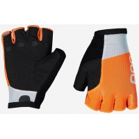 Перчатки велосипедные POC Essential Road Mesh Short Glove Granite Grey/Zink Orange (PC 303718287)