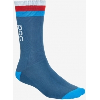 Велоноски POC Essential Mid Length Sock Cubane Multi Blue (PC 651338250)