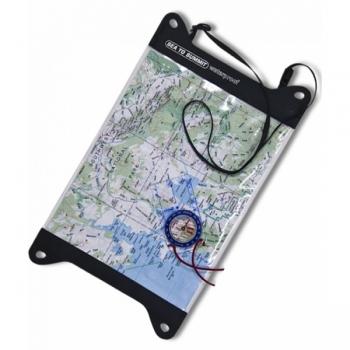 Водонепроницаемый чехол для карты Sea To Summit Guide Map Case M (STS AMAPTPUM)