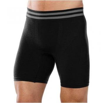 Боксеры мужские Smartwool Men's PhD Seamless 6 Boxer Brief Black (SW 16002.001)
