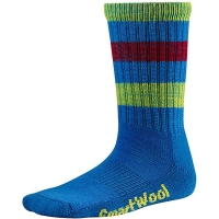 Термоноски детские Smartwool Kids' Striped Hike Light Crew Socks Bright Blue (SW SW136.378)